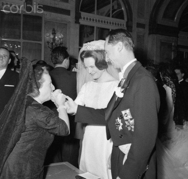 The wedding dress princess irene of the netherlands